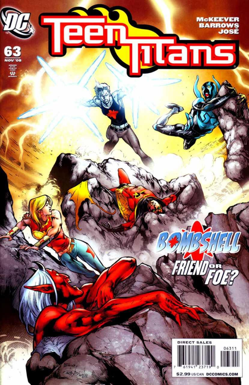 Teen Titans #63