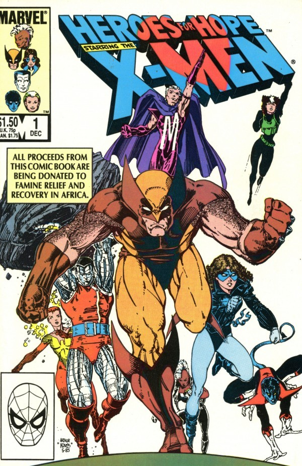 Heroes for Hope: Starring the X-Men #1