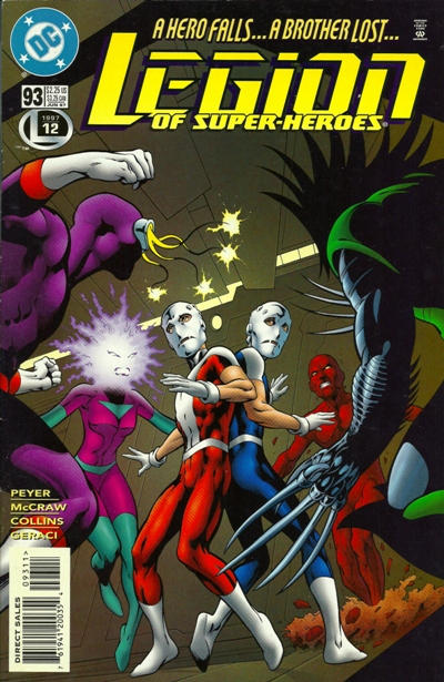 Legion of Super-Heroes #93