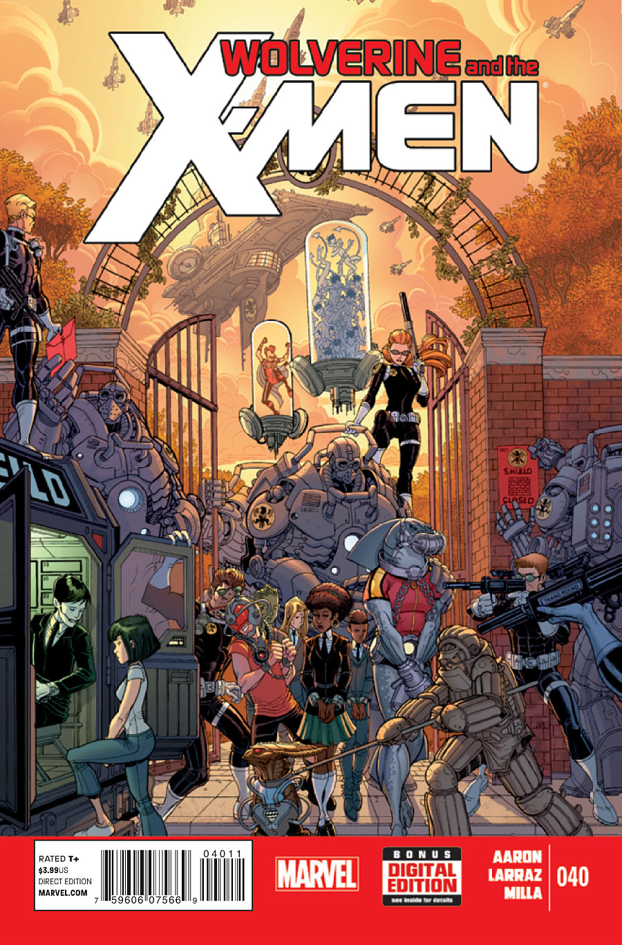 Wolverine and the X-Men #40