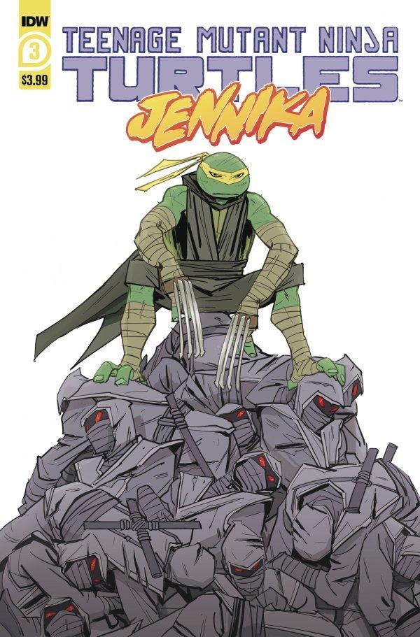 Teenage Mutant Ninja Turtles: Jennika #3
