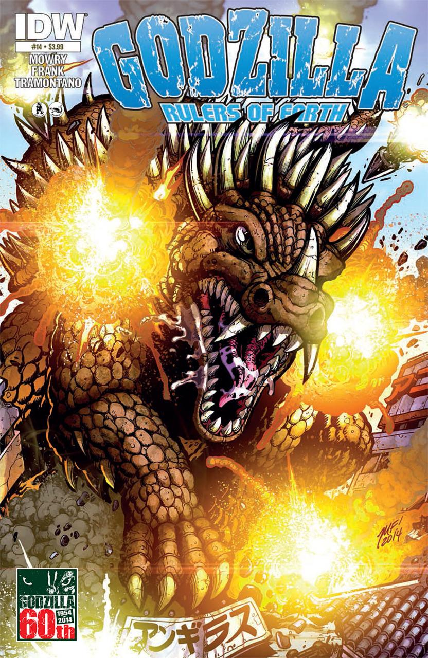 Godzilla: Rulers of Earth #14