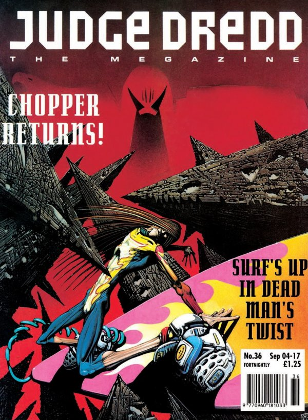 Judge Dredd: The Megazine #36