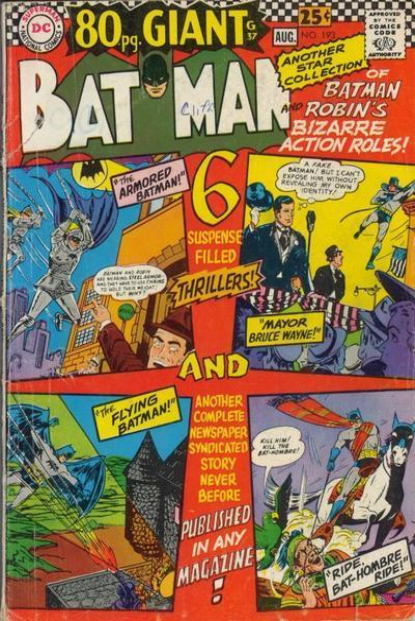 Batman #193