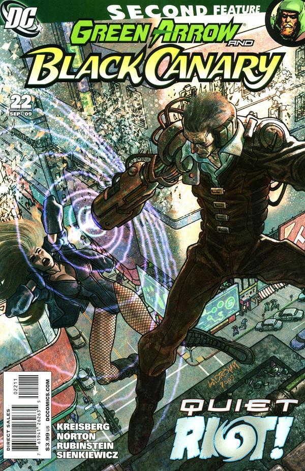Green Arrow / Black Canary #22