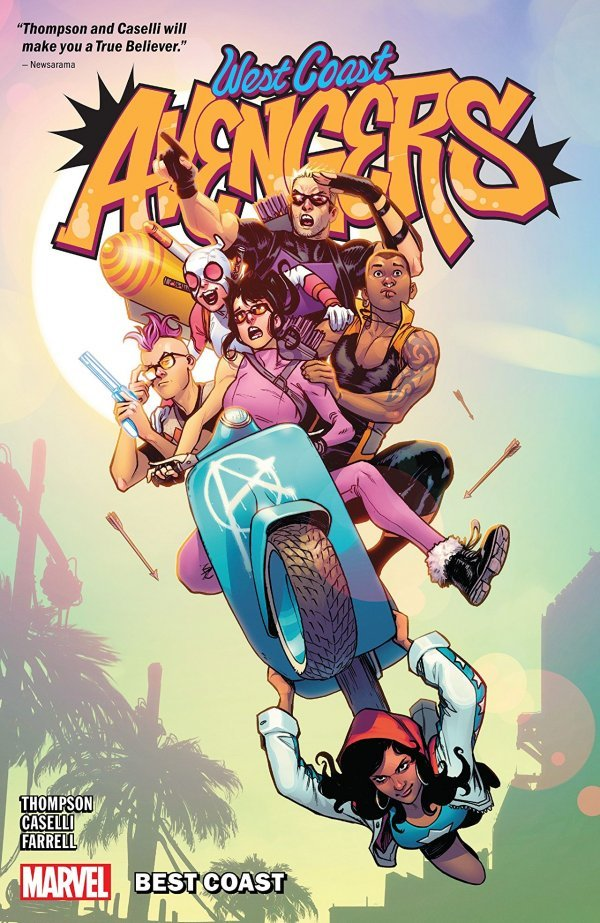 West Coast Avengers Vol. 1: Best Coast TP