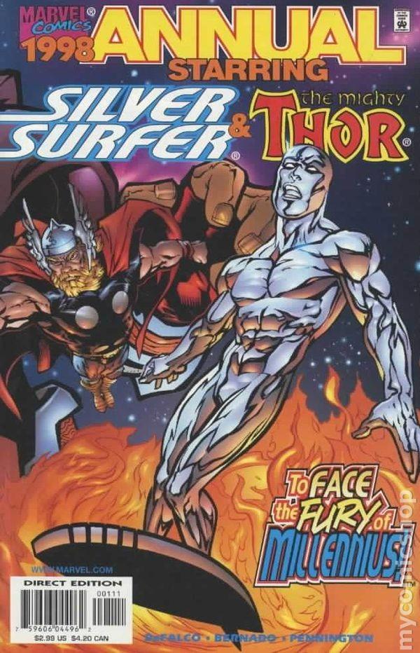 Silver Surfer 1998 Annual