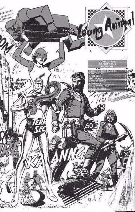 DC's Young Animal Ashcan Edition