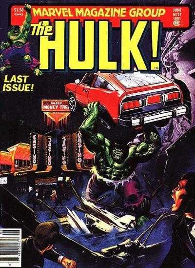 The Rampaging Hulk #27