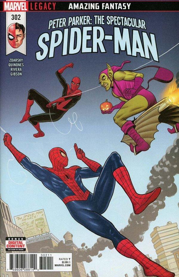 Peter Parker: The Spectacular Spider-Man #302
