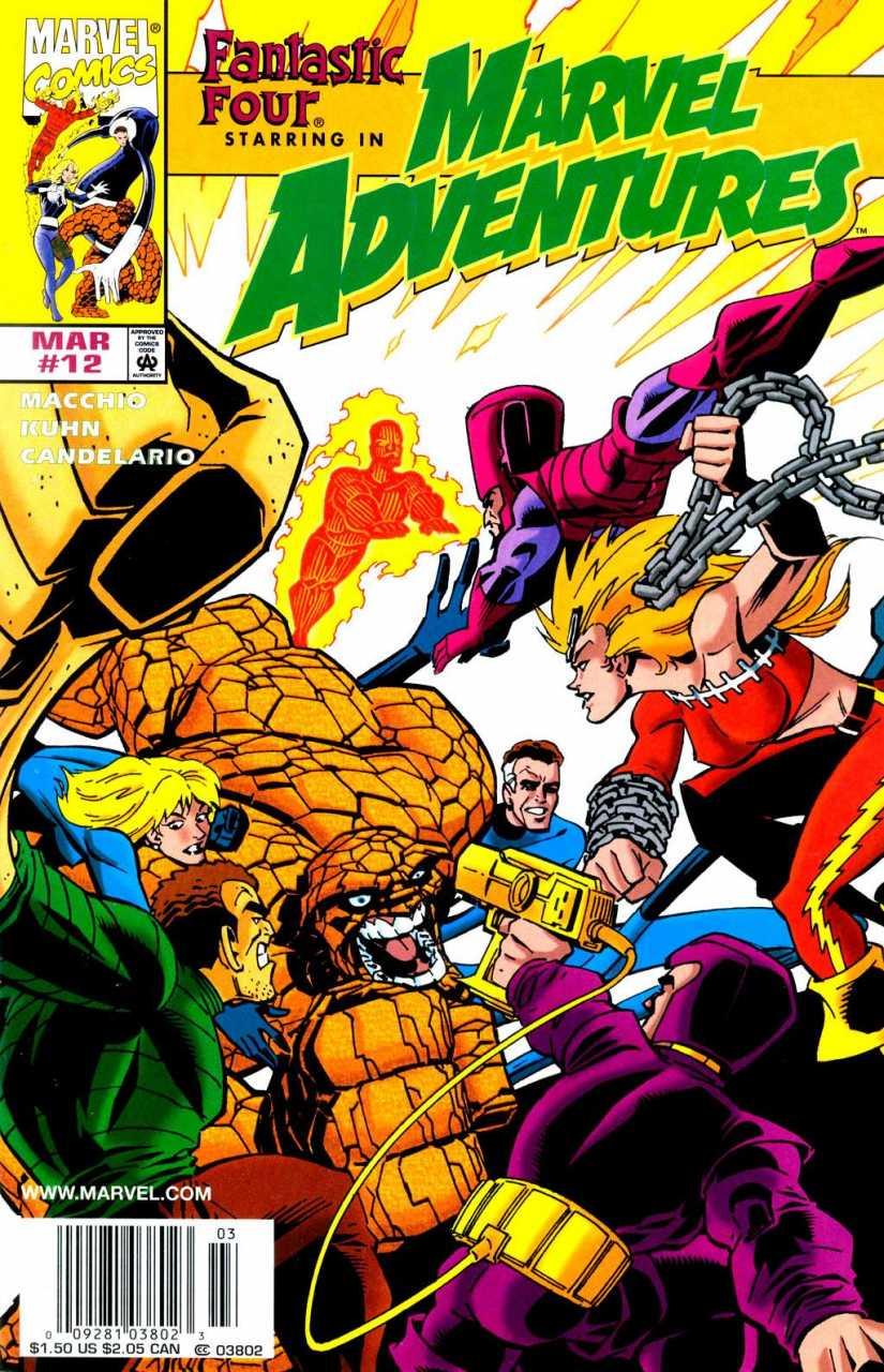 Marvel Adventures #12