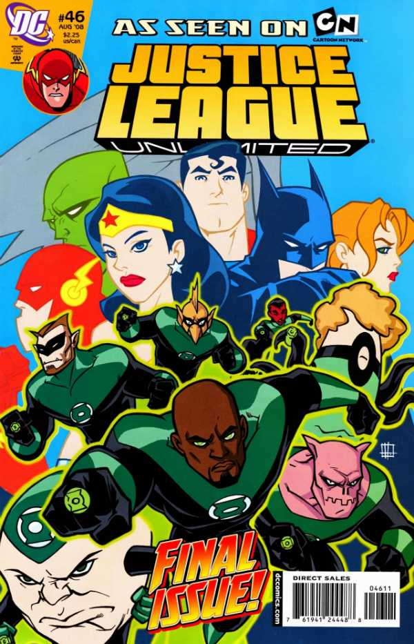 Justice League Unlimited #46