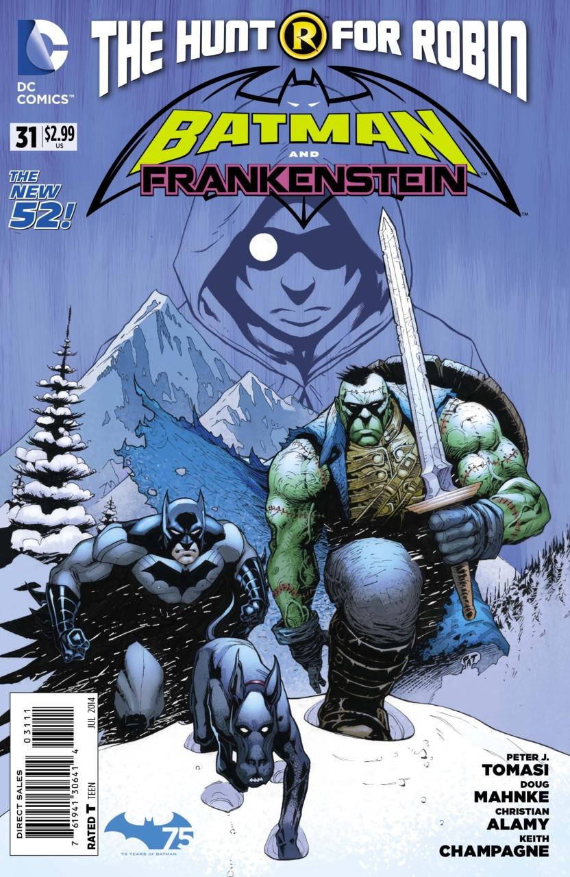 Batman and Frankenstein #31