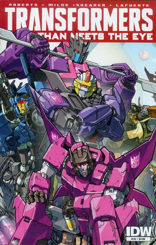 The Transformers: More than Meets the Eye #45