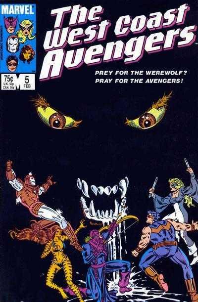 The West Coast Avengers #5