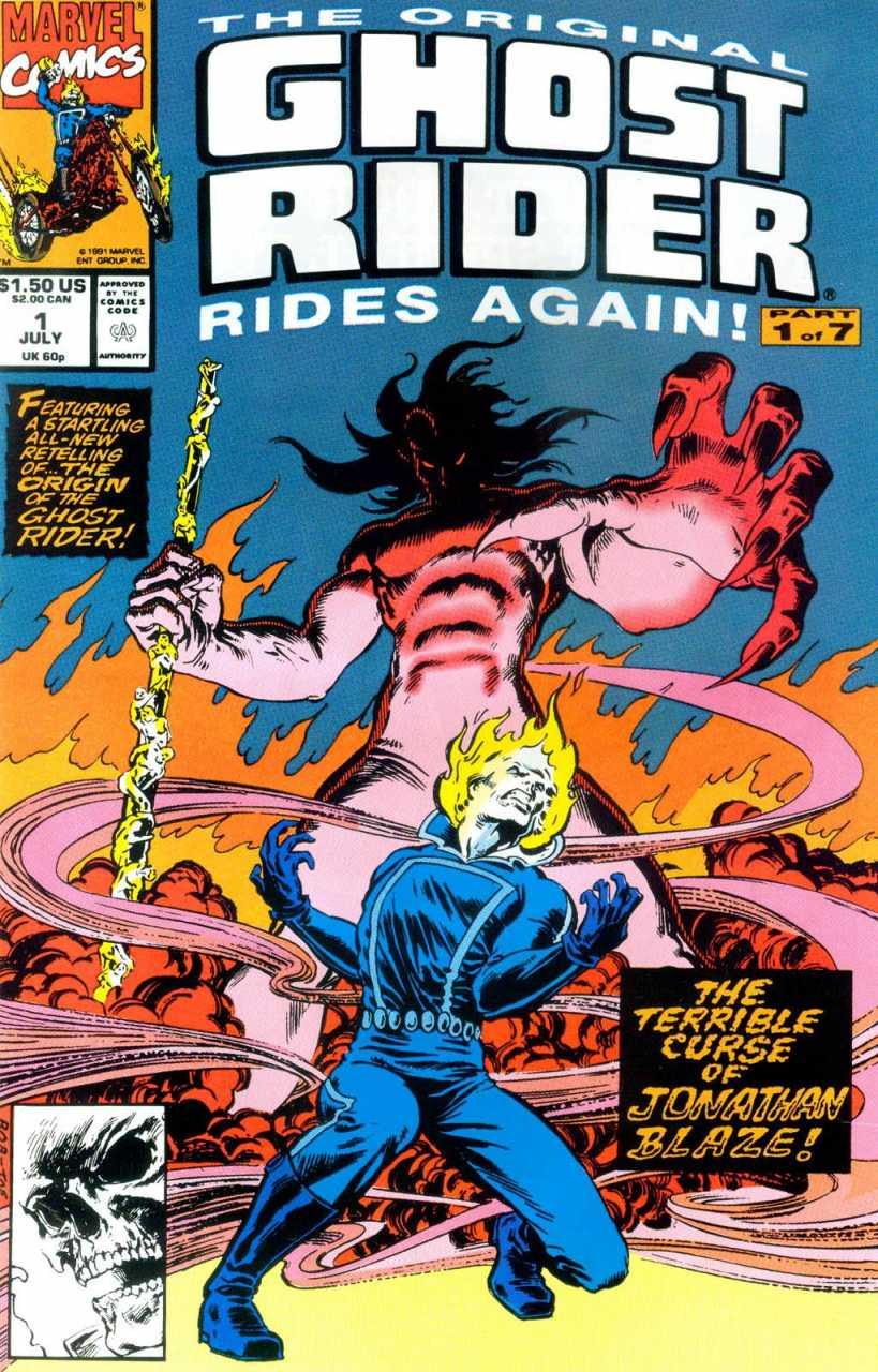 The Original Ghost Rider Rides Again #1