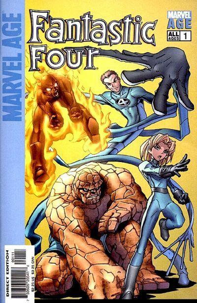 Marvel Age Fantastic Four #1
