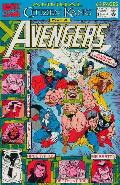 The Avengers Annual #21