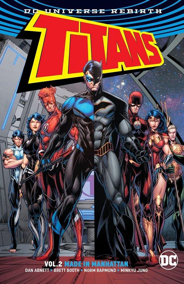 Titans Vol. 2: Made in Manhattan TP