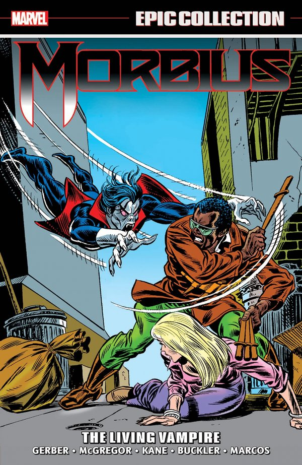 Morbius Epic Collection: The Living Vampire TP