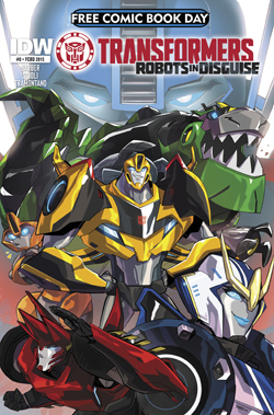 Free Comic Book Day 2015: Transformers: Robots in Disguise #0