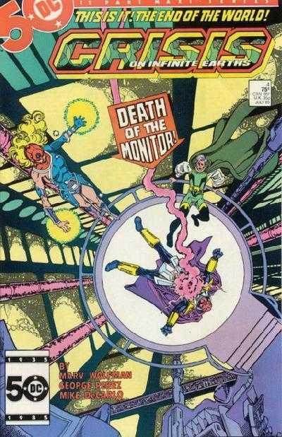 Crisis on Infinite Earths #4