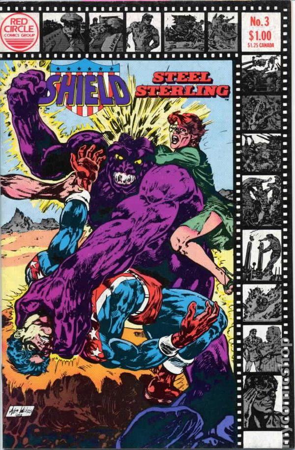Shield/Steel Sterling #3