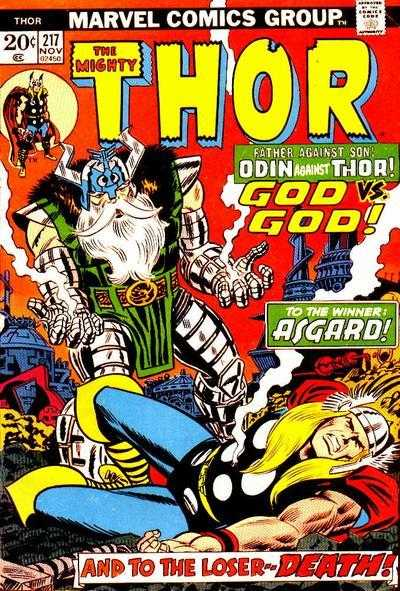 The Mighty Thor #217