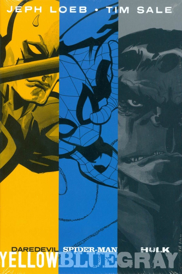 Jeph Loeb and Tim Sale: Yellow Blue and Gray HC