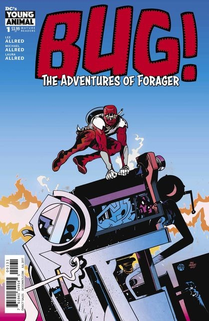 Bug! The Adventures of Forager #1