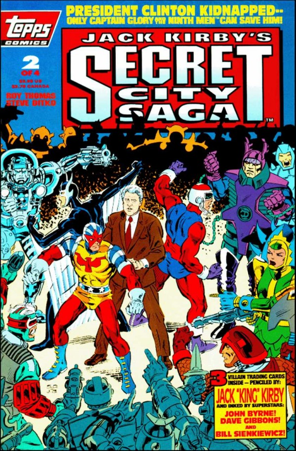Secret City Saga #2