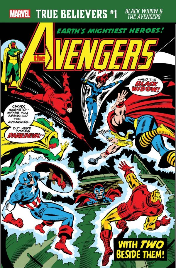 True Believers: Black Widow & The Avengers #1