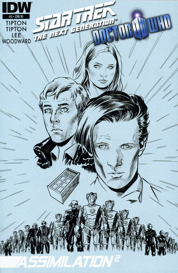 Star Trek: The Next Generation / Doctor Who - Assimilation2 #3