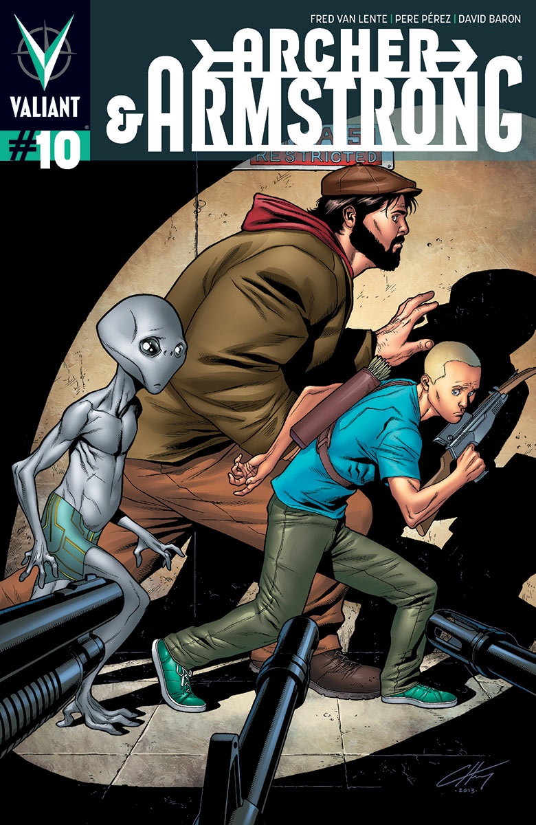 Archer & Armstrong #10