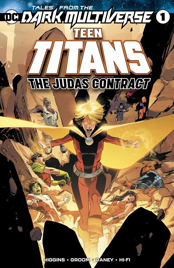 Tales From The Dark Multiverse: Teen Titans: The Judas Contract #1