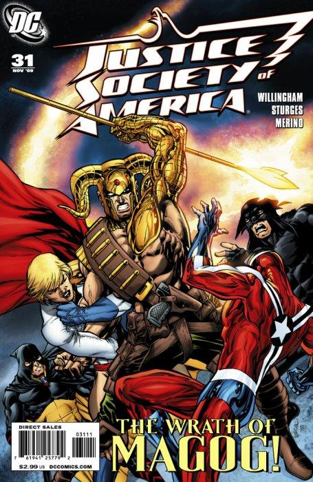 Justice Society of America #31
