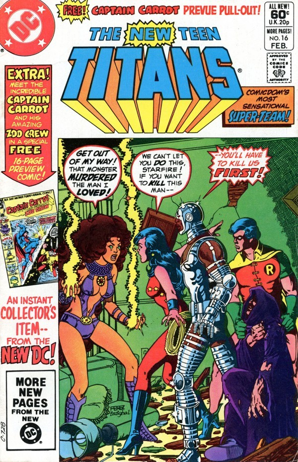 The New Teen Titans #16