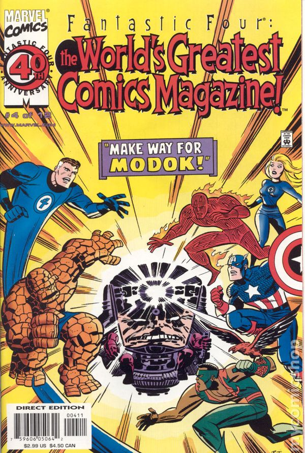 Fantastic Four: The World's Greatest Comics Magazine #4