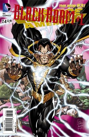 Justice League of America #7.4 Black Adam