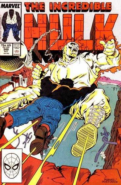 The Incredible Hulk #348