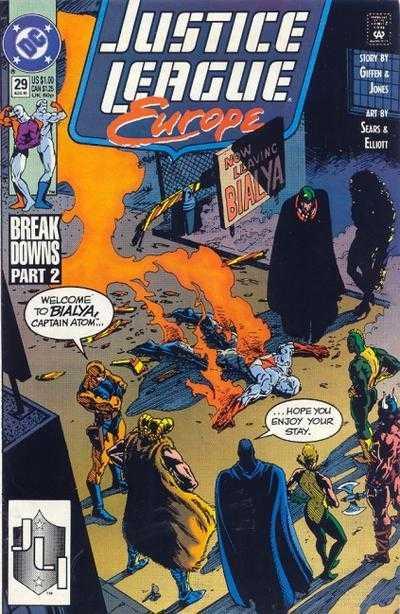 Justice League Europe #29