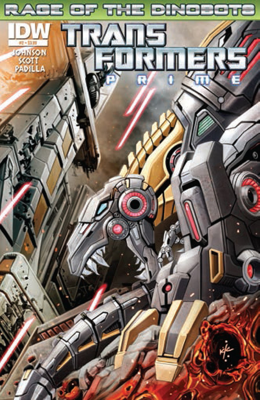 Transformers: Prime - Rage of the Dinobots #2