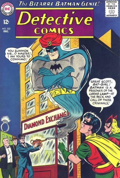 Detective Comics #322