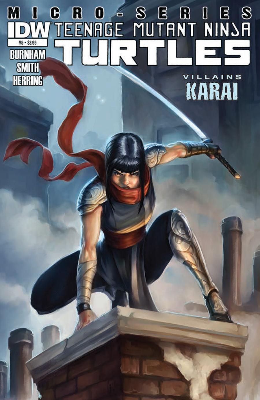 Teenage Mutant Ninja Turtles: Villains Micro-Series #5