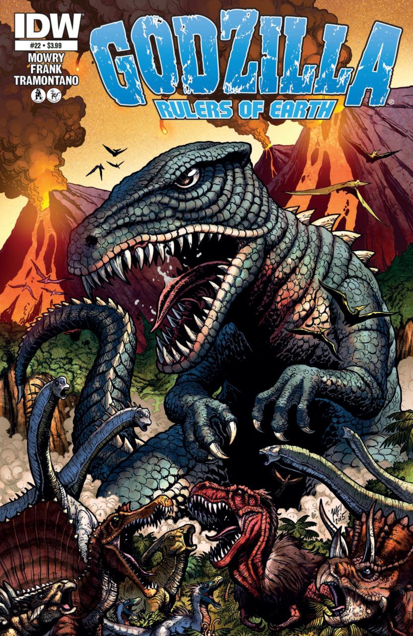 Godzilla: Rulers of Earth #22