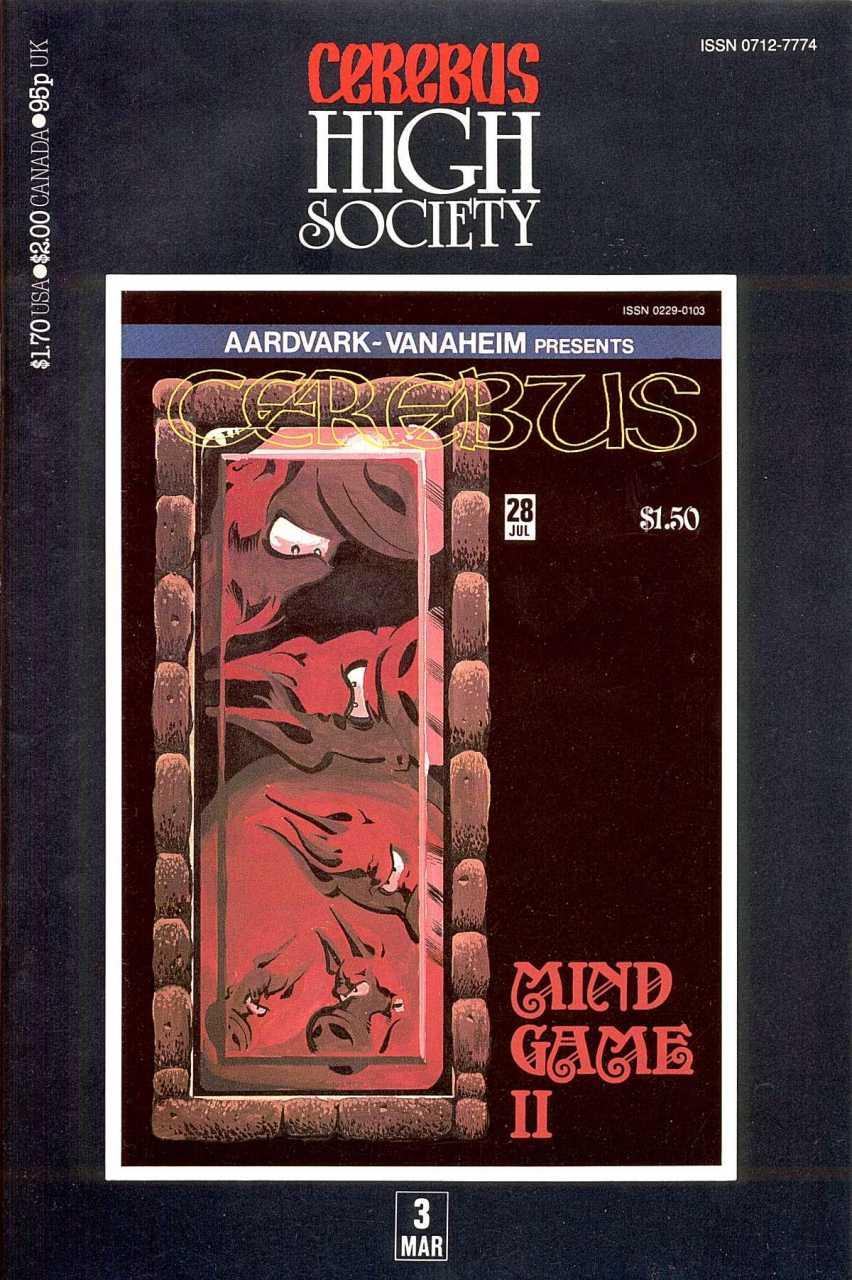 Cerebus High Society #3