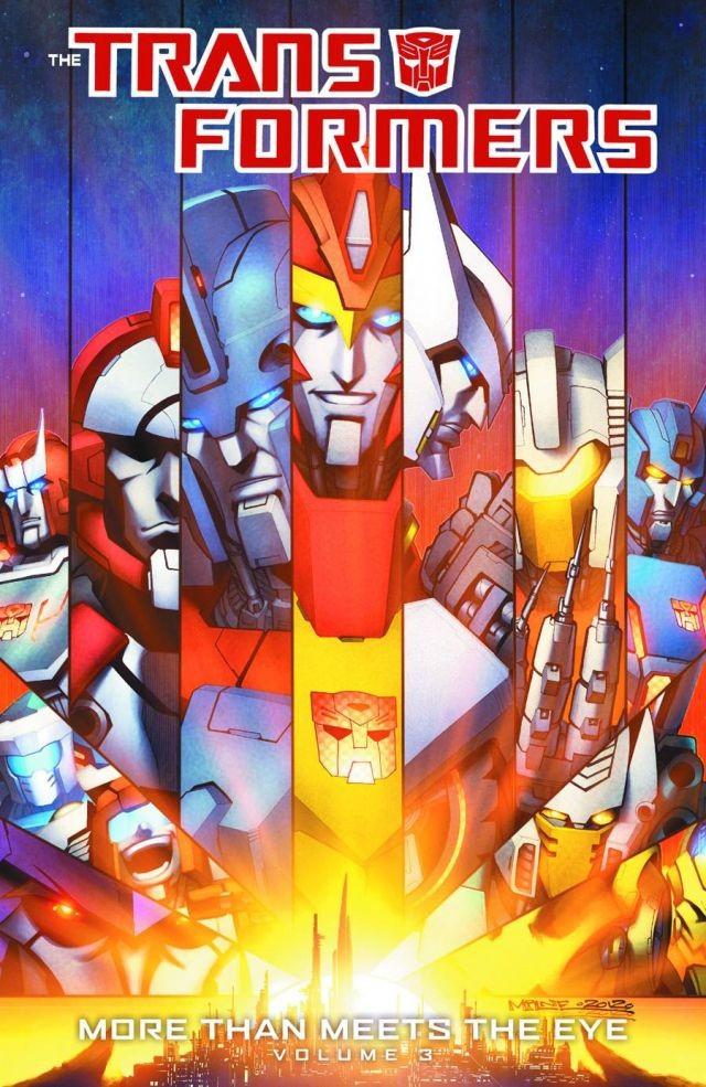 Transformers: More Than Meets the Eye Vol. 3 TP