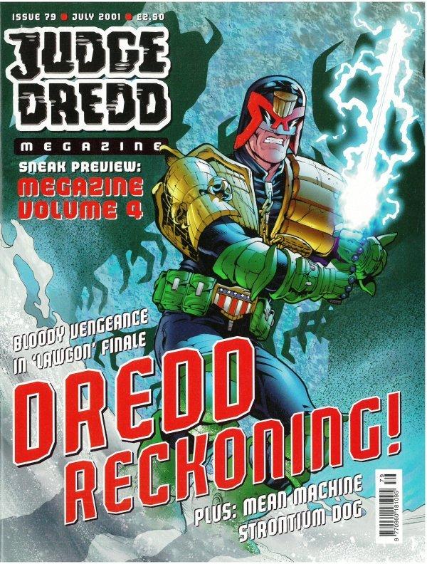 Judge Dredd Megazine #79