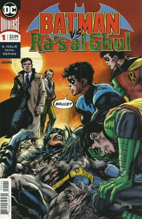 Batman vs. Ra's Al Ghul #1