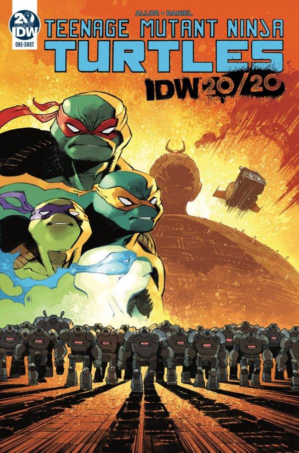 Teenage Mutant Ninja Turtles: IDW 20/20 #1